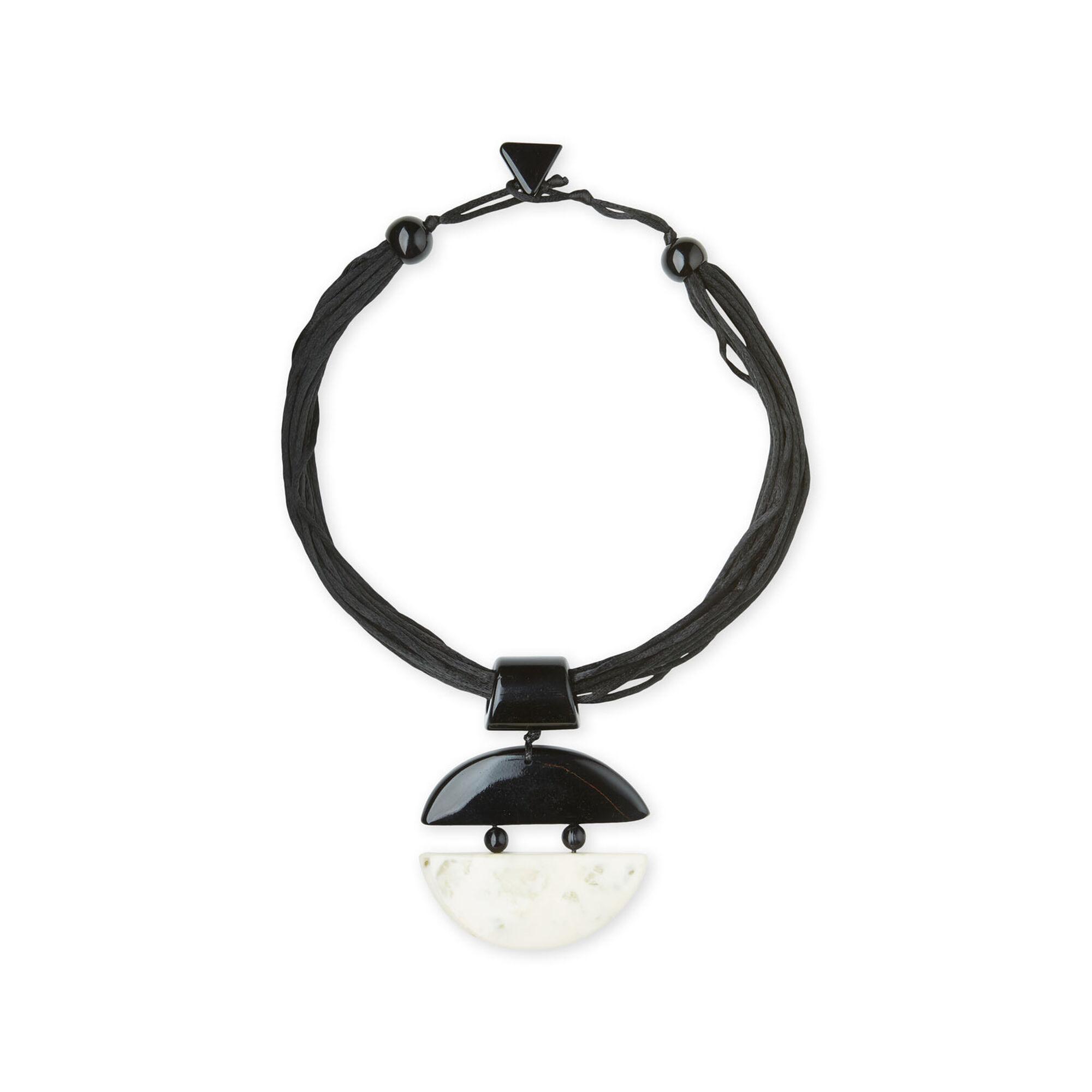 Rakel halsband, Black, hi-res
