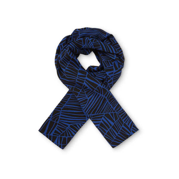 ALONG SCARF, ROY BLU ORG, hi-res