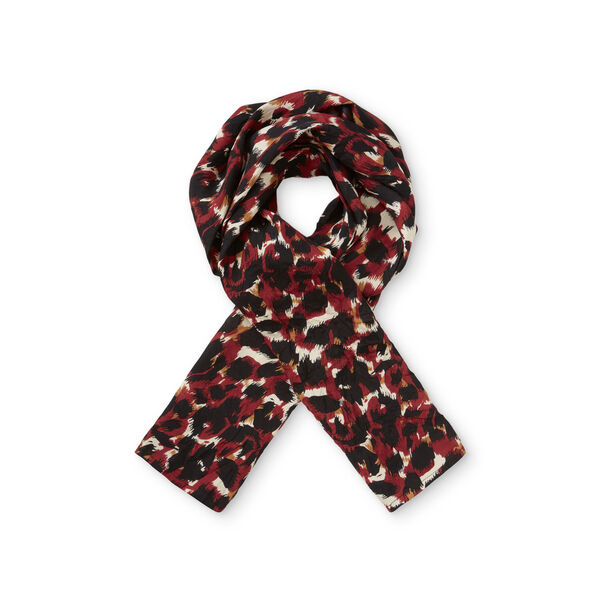 ALONG SCARF, RIO RED ORG, hi-res