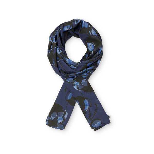 ALONG SCARF, BLUEBELL, hi-res