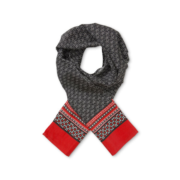 ALONG SCARF, CHILI, hi-res