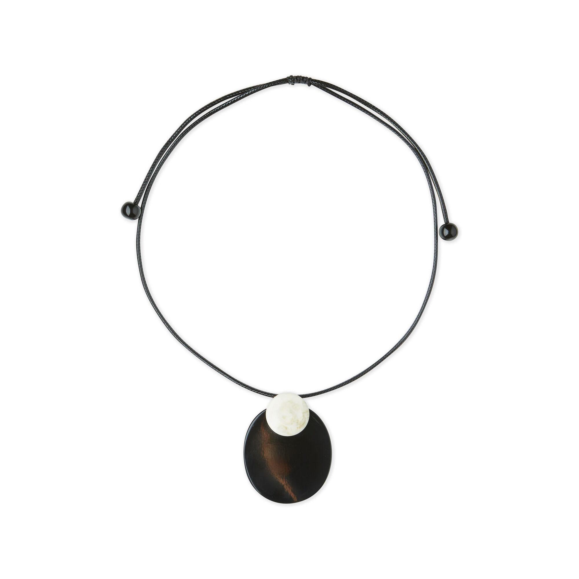 Radka halsband, Black, hi-res